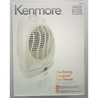 Kenmore Oscillating Compact Fan Heater by Kenmore
