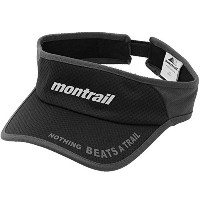 montrail モントレイル サンバイザー montrail NOTHING BEATS A TRAIL RUNNING VISOR モントレイル ナッ...