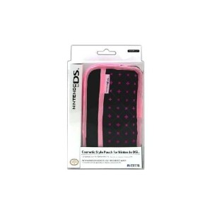 DSi Cosmetic Style Pouch - Black (輸入版)