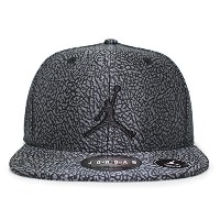 (ジョーダンブランド) 【子供用】JORDAN BRAND 【YOUTH JORDAN ELEVATION SNAPBACK/BLK-GREY】 [並行輸入品]