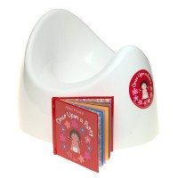 Once Upon a Potty POTTY GIFT BOX with mini-book -- GIRL by Child Matters