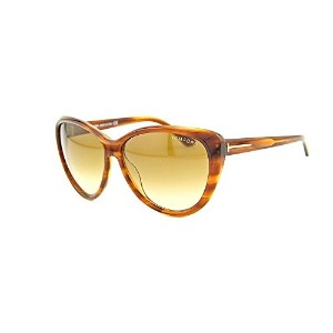 Tom Ford Malin TF 230 65F Havana Brown Cat Eye Sunglasses