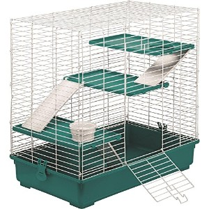 Kaytee My First Home & Fiesta Ferret Complete Kit Bedding Food Dish Cozy Cage