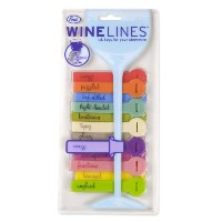 Fred & Friends WINE LINES Drink Markers - Euphemisms, Set of 12 by Fred & Friends
