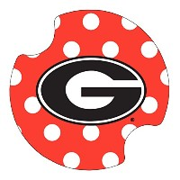 Thirstystone University of Georgia Dots Car Cup Holder Coaster, by Thirstystone