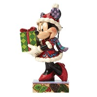Enesco(エネスコ) Disney Traditions Christmas Minnie 4046015 [並行輸入品]