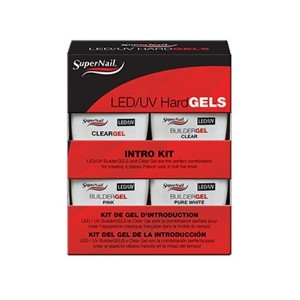 SuperNail LED/UV Hard Gels - Intro Kit