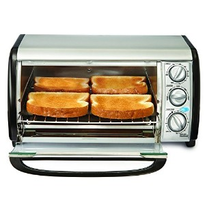 Bella 14326 4-Slice Toaster Oven - Toast, Bake, Broil, and More by Bella