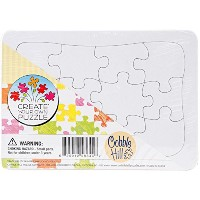 Cobble Hill Create Your Own Puzzle - Postcard Size Jigsaw Puzzle, 12-Piece Tray Puzzle by Cobble...