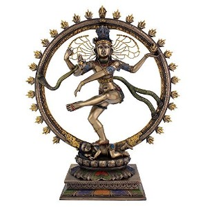 "Large Lord Nataraja DancingシヴァStatue Sculpture図18 "" Tall"