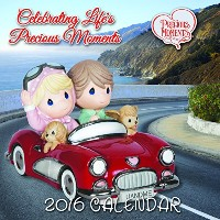 Precious Moments 2016 Photo Wall Calendar Ornament [並行輸入品]
