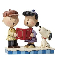 ENESCO(エネスコ) スヌーピー Charlie Brown, Lucy and Snoopy Peace on Earth 4045883 [並行輸入品]