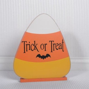 Trick or Treat Candy Corn on Base