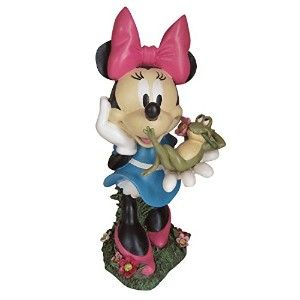 Woods International 4042 Minnie Mouse with Frog Friend Statue, 19-3/4-Inch by 10-Inch by 10-Inch ...