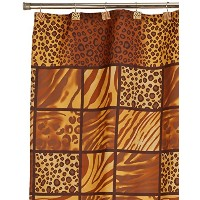 FloridaBrands 100-Percent Polyester Rope Shower Curtain Set