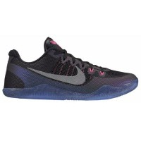 "Nike Kobe 11 Low ""Invisibility"" メンズ Black/Wolf Grey/Purple Smoke ナイキ バッシュ コービー11 Kobe Bryant コービー..."