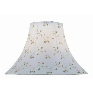 Lite Source CH1148-16 16-Inch Lamp Shade, White by Lite Source
