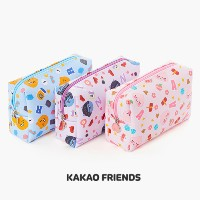 【Kakao friends】カカオフレンズニュービュティーポーチ(M)/New beauty pouch (M)/3種・ミディアムサイズ・韓国KAKAO FRIENDS正品