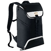 [ナイキ] NIKE LeBron Ambassador Max Air Backpack Black/White/Metallic Gold バックパック 黒 x 白 x ゴールド [並行輸入品]