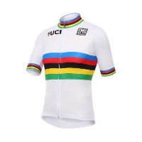 Santini - UCI World Road Champion Rainbow ジャージ Mサイズ