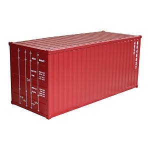 アンドグラッド Metal Container Multi Box Dark Red 20329