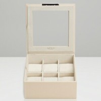 309653-STACKABLE ウルフ 時計収納用トレー(6本収納) クリーム WOLF [309653STACKABLE]【返品種別B】【送料無料】