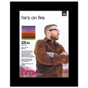 CITY AND COLOUR - Little Hell Mini Poster - 28.5x21cm