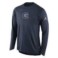 Georgetown Hoyas Brand Jordan 2016-2017 Basketball Player Elite Shooter Performance Top メンズ Navy...