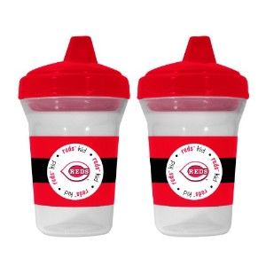 MLB Cincinnati Reds Sippy Cups, by Baby Fanatic
