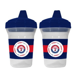 MLB Texas Rangers Sippy Cups, by Baby Fanatic