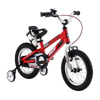Royalbaby Space No. 1 Kids' Bike, Perfect Gift for Kids, 14 inch wheels, Red [並行輸入品]