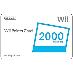 Wii 2000 Points Card|Wii Points Card (2000 Wii Points) (輸入版)