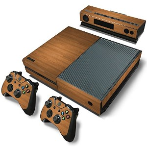 FriendlyTomato PS4専用 Skin プレイステーション4用スキンシール - Wooden Wood Design - PlayStation 4 Vinyl