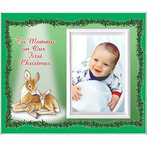 To Mommy on Our First Christmas - Picture Frame Gift by Expressly Yours! Photo Expressions