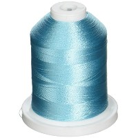 Rayon Super Strength Thread Solid Colors 1100 Yards-Blue Frost (並行輸入品)