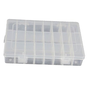 15/24/36 Grid Clear Adjustable Jewelry Bead Organizer Box Storage Container Case by Nicky's Gift