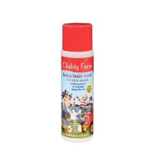 Childs Farm Natural Hair & Body Wash For Dirty Rascals 250ml - SWEET ORANGE 2 in 1 shampoo and body...