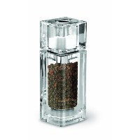 Cole & Mason Cube Precision Pepper Mill and Salt Shaker, Salt and Peppercorns Included by Cole &...
