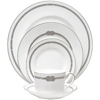 Wedgwood Vera Infinity 5 Piece Place Setting, Multicolor by Wedgwood [並行輸入品]