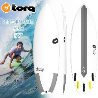 torq(トルク) TEC 5'8 PERFORMANCE FISH 5 Finboxes(Futures Fin) ショートボード エポキシ EPS
