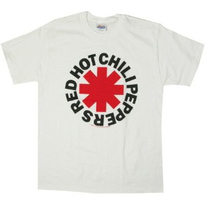 ◎Red Hot Chili Peppers Tシャツ ASTERISK 白 (レッチリ)