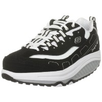 Skechers Shape Ups Strength 11809 Womens, Black/White, 38.5 EUR