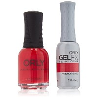 Orly Nail Lacquer + Gel FX - Perfect Pair Matching DUO - Monroe's Red