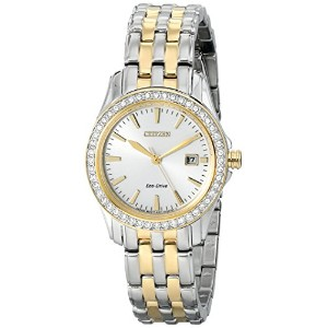 [シチズン]Citizen 腕時計 Eco-Drive Dress Stainless Steel - Two-Tone watch EW1908-59A レディース [逆輸入]