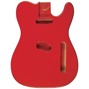 Golden Gate ゴールデンゲート Vintage-Style エレキギター Body - Fiesta Red Single Cutaway T-style エレキギター エレクトリックギター...
