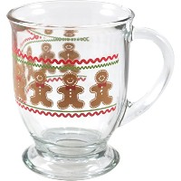 Anchor Hocking Holiday Gingerbread Men Cafe Mug, Set of 6 by Anchor Hocking