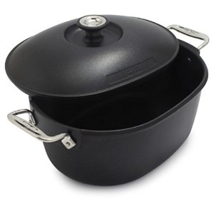 All-Clad Cast-Aluminum Nonstick Dutch Oven E2109764 , 6テつス qt. , Black by All-Clad
