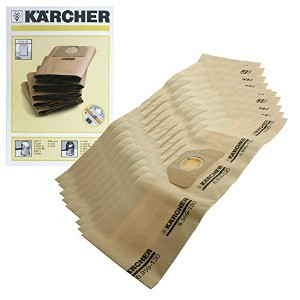 Karcher wd3.000wd3.999掃除機デュアルフィルタBags ( Pack of 10)