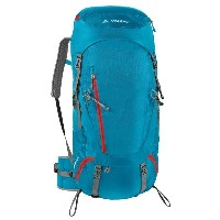 ファウデ Vaude レディース スキー バッグ【Asymmetric 48+8 Backpack - Internal Frame 】Teal Blue