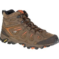 メレル Merrell メンズ ハイキング シューズ・靴【Moab FST Leather Mid Waterproof Hiking Boot】Dark Earth